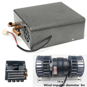 4 Holes Car Underdash Compact Heater Heat Warm With Speed Control Switch Winter