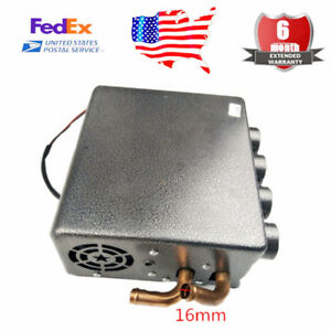 12v New Compact Type Copper Underdash Heater Heat Speed Switch Universal