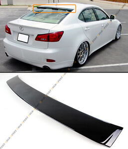 For 2006 13 Lexus Is 250 350 Isf Vip Painted Glossy Black Rear Roof Top Spoiler