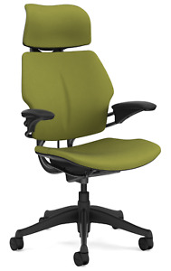Humanscale Freedom F213 Sage Wave Fabric Advanced Duron Arms Office Desk Chair