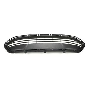 2012 2014 Ford Fiesta 4 5 Door Front Lower Bumper Black Grille Oem New Genuine