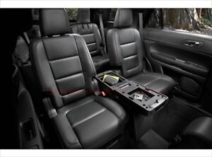 2011 2015 Ford Explorer Center Console 2nd Second Row Charcoal Black Oem New