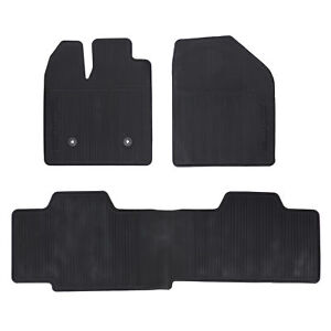 Oem New Front Rear All Weather Floor Mats Black 11 14 Ford Edge Dt4z7813086aa