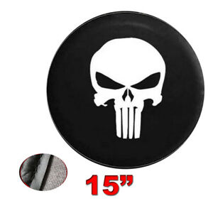 Spare Tire Wheel Soft Cover Leather Case Protector For Jeep Wrangler 27 28 29