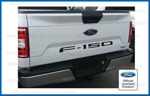 2018 Ford F150 Tailgate Inserts Decals Letters Indent Stickers Matte Black