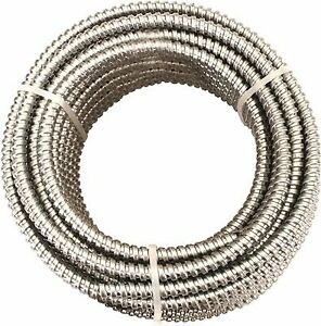 Greenfield Reduced Wall Aluminum Flexible Metal Conduit 3 4 In 100 Ft