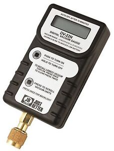 Jb Industries Dv 22n Leak Proof Digital Vacuum Gauge Leak Proof Digital Vacuum