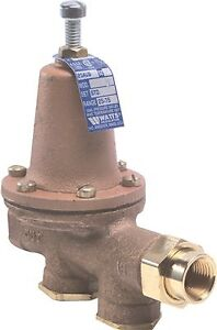 Watts Water Pressure Reducing Valve 3 4 In Fip X 3 4 In Fip Lead Free
