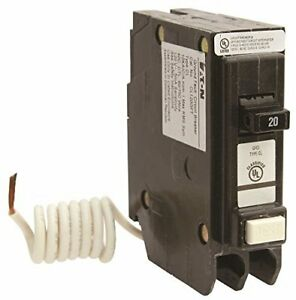 Eaton Cl Series Single Pole Classified Gfci Breaker Self test 120 240 Volt 2