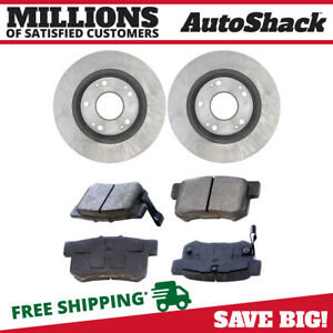 Rear Rotors And Metallic Pads For 2013 2015 Ilx 2006 2011 Csx 2006 2015 Civic