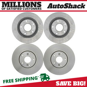 Front Rear Disc Brake Rotors Set Of 4 For Honda Civic Acura Csx 2013 2015 Ilx