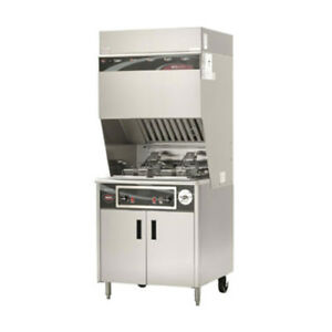 Wells Wvf 886 Ventless Dual Fryer With Auto lifts
