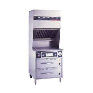 Wells Wvg 136rw Ventless Electric Range With 2 Drawer Warmer Base