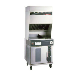 Wells Wvo 2hfg Electric Ventless Cooktop With Convection Oven