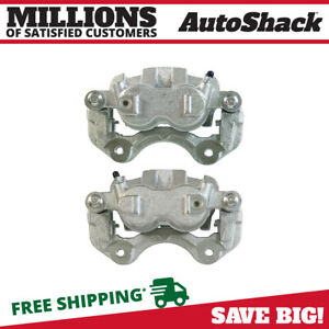 Front Disc Brake Caliper W Bracket Pair 2 For 1999 2004 Jeep Grand Cherokee V8