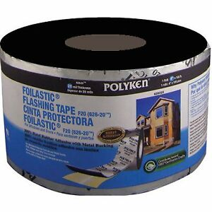 Polyken 626 20 Foilastic Window And Door Flashing Tape 6 In X 100 Ft 3557685