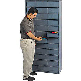 18 d Metal Drawer Storage Cabinet With 36 Drawers 11 1 4 w