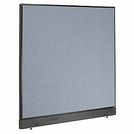 Interion 8482 Office Cubicle Partition Panel With Raceway 60 1 4 w X 46 h B