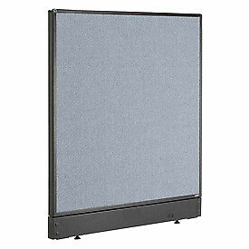 Interion 8482 Office Cubicle Partition Panel With Raceway 48 1 4 w X 46 h B