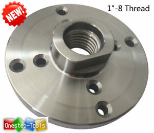 6 Steel Face Plate 1 8 Threaded For Wood Lathe Turning