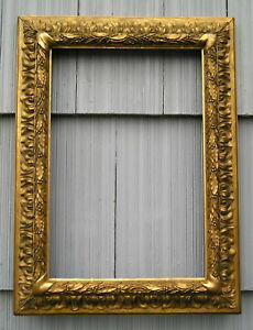 Antique Aesthetic Eastlake Victorian Batwing Acanthus Picture Frame W Carters