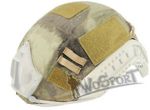 Tactical Military Hunting Helmet Cover for Ops-Core Fast Helmet BJPJMH A-TACS
