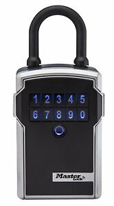 Master Lock 5440d 3 1 4 Electronic Bluetooth Portable Lock Box