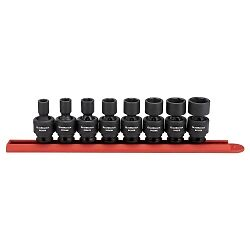 Gearwrench 84917n 8 Piece 3 8 Drive 6 Point Sae Universal Impact Socket Set
