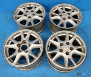 93 02 Chevy Camaro Oem Wheels Rims Stock Factory 16 Set