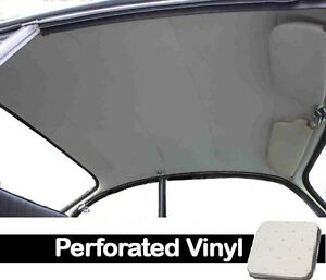 1956 1974 Vw Ghia Sedan Original Style Headliner Off White Perforated Vinyl