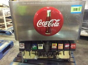Cornelius Of259ec2 8 Flavor Coke Branded Soda Pop Fountain Machine Dispenser