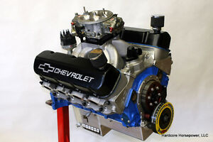 496ci Big Block Chevy Pro street Engine 600hp Built to order Dyno Tuned
