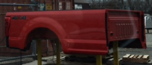 New Red 2017 Ford F 350 8 Aluminum Pickup Bed