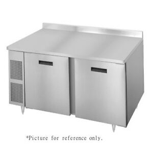Randell 9235 32 7 72 Two Section Work Top Refrigerated Counter