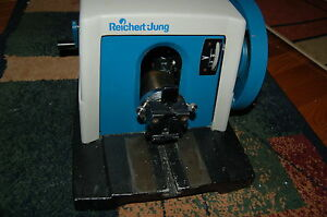Reichert jung Model 820 Histocut Microtome Rotary