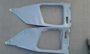 1975 1976 Cadillac Coupe Deville Interior Sail Window Panels