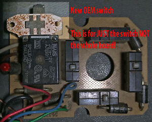 Switch Replacement Part For Joystick Board For Fisher Western Plow Controller