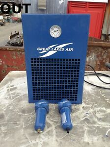 Great Lakes Air Grfn 25alrh 116 Refrigerated Air Dryer W Filters 250psi R 134a
