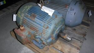60 Hp Westinghouse Electric Motor 1800 Rpm 364t Frame Tefc 460 V Exp