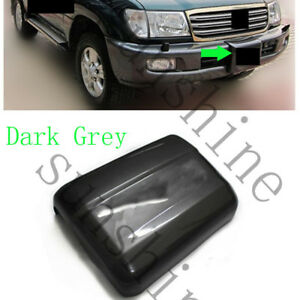 1x Grey Front Bumper Winch Cover Trim For Toyota Land Cruiser 4700 Fj100 1998 07