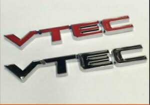 Trunk Badge Emblem Stickers Vtec Car Honda Civic Accord Odyssey Crv Spirior