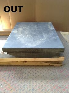 Black Granite Surface Plate 24 X 17 1 4 X 3