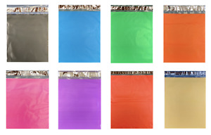 1 1000 Colored Poly Mailers 10x13 Red Green Pink Blue Black Orange Yellow Purple