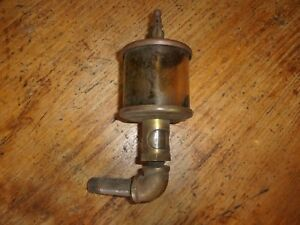 Lonergan s 386 Brass Hit And Miss Engine Oiler
