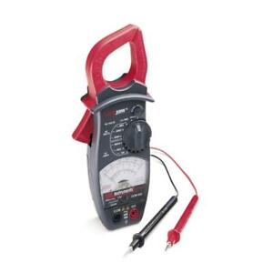Gardner Bender Ac Clamp Meter W Lockjaw 600 Amp 4 Functions 8 Ranges Analog New
