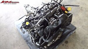 02 05 Subaru Impreza Wrx 2 0l H4 Turbo Avcs Engine Awd 5 speed Trans Jdm Ej205