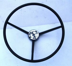 1961 62 63 64 65 66 Ford Truck Stering Wheel Black Only New