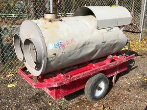 Frost Fighter Ohv 350ii 320 000 Btu Indirect Fired Wagon Construction Heater