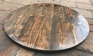 Reclaimed Wood 30 Round Table Top Bar Restaurant Farmhouse Rustic Shabby Chic