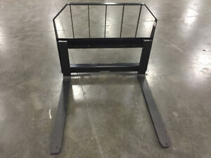 Fork Frame 48 Pallet Forks Quick Attach Skid Steer Attachment